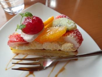 20140220ケーキセット((美^~^味))モグモグ♪2