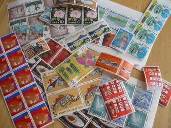 金券ショップで切手を購入201410-1