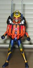 AC仮面ライダー鎧武カチドキアームズ(変身途中)