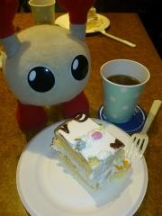 バボちゃんとケーキ