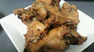 鶏手羽元のパイナップルジュース煮