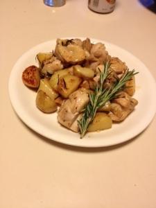 チキンの香草焼き~ローズマリー
