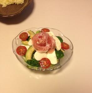 緑やさいのサラダ