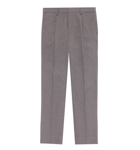 TR01 HHOUNDS TOOTH TROUSERS B_GRY_R
