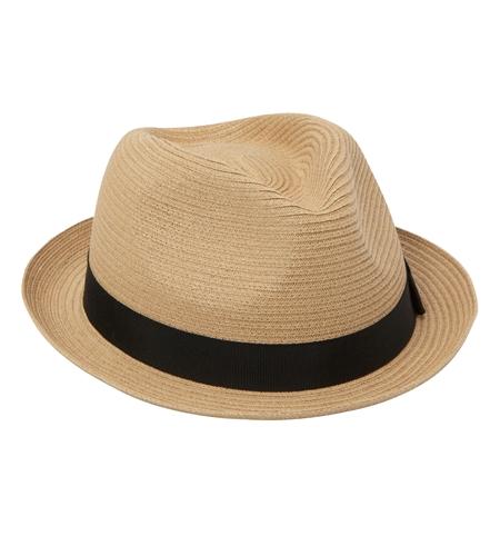 AC13 PANAMA HAT MADE BY CA4LA GRY BGE_R