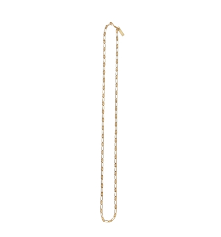 AC32 FLAT CHAIN NECKLACE GOLD_R