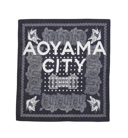 AC34 BANDANA AOYAMA CITY NVY_R