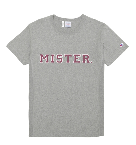 CH05 CHAMPION MISTER TEE GREY_R