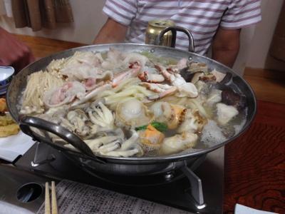 なぜか海鮮鍋