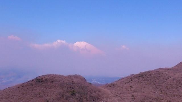 箱根奥院より富士