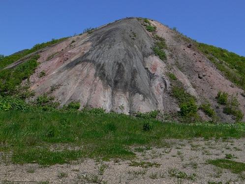 茅沼炭鉱跡