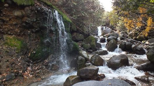 ニセコイオウ川湯滝 (9)