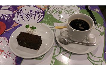 ケーキコーヒー