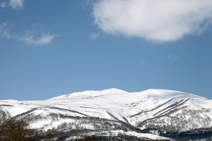 2014/3/9栗駒山と東栗駒山