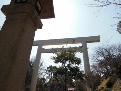 倭姫宮前の大鳥居