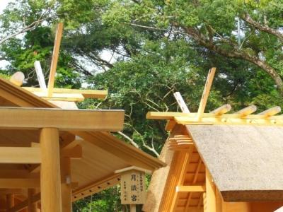 千木と御屋根