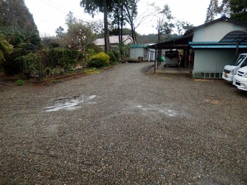 2014.4.3 自宅 (雨の庭) 001