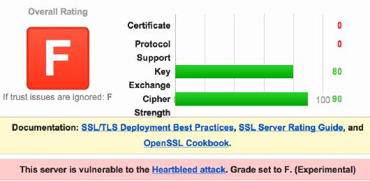 SSL worst F の例