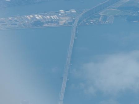 飛行機からの眺め 瀬戸大橋 4