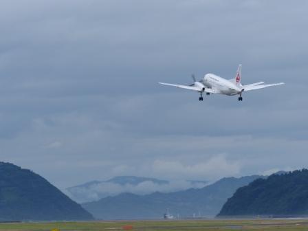 JAL 飛行機 (プロペラ機) 3
