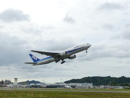 ANA 飛行機 2