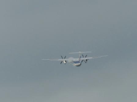 ANA 飛行機 (プロペラ機) 2