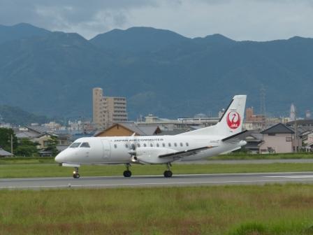 JAL 飛行機 (プロペラ機) 1