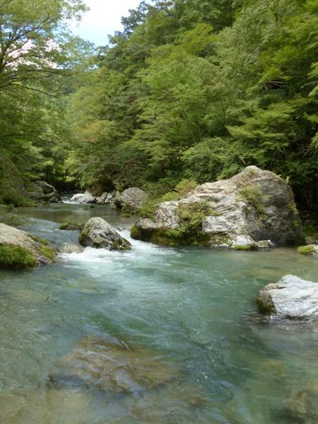 小田深山渓谷 風景 1
