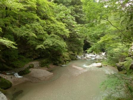 小田深山渓谷 風景 2