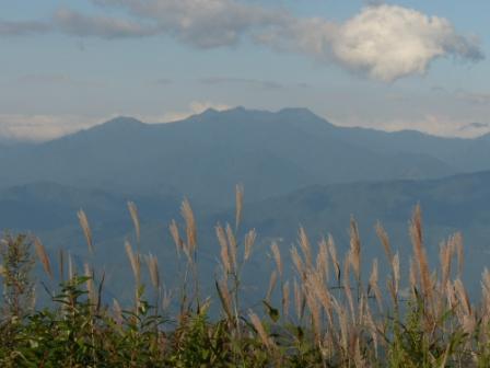 大川嶺周辺から見た風景 1