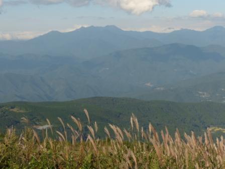 大川嶺周辺から見た風景 2