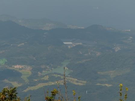 高縄山展望台からの眺め 2