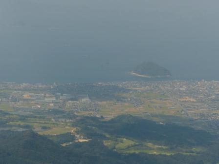 高縄山展望台からの眺め 3