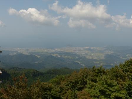 高縄山展望台からの眺め 1