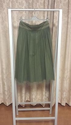 ミモレ チュールスカート