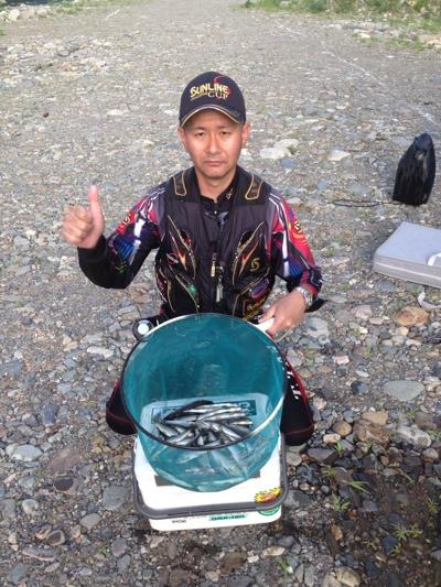 ジェームズ谷の鮎釣り日記