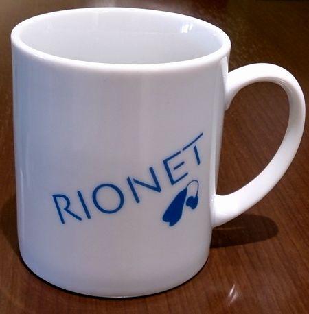 リオネット補聴器オリジナルマグカップ