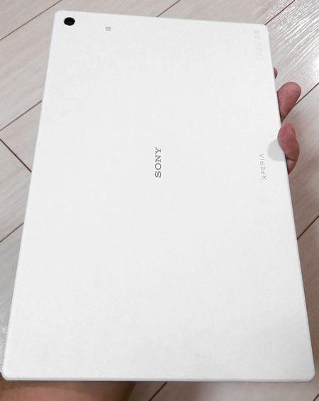ソニーエクスペリアタブレットZ2ホワイト