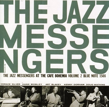 The Jazz Messengers At The Cafe Bohemia Vol.2 Blue Note BLP 1508