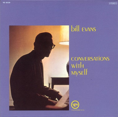 Bill Evans Conversations With Myself Verve V6-8526