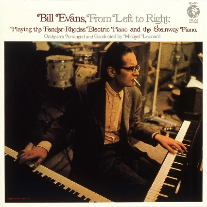 Bill Evans From Left To Right MGM SE 4723