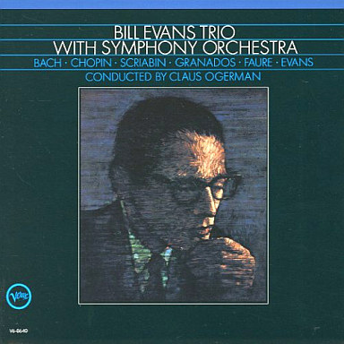 Bill Evans Trio With Symphony Orchestra Verve V6-8640