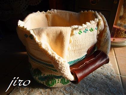 ビーズ編みバッグ‐輪和輪8