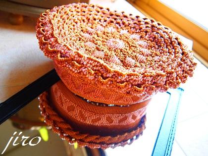 ビーズがま口-sandy cake(つづき)3