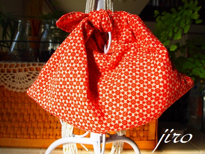 ビーズ編みバッグ-マリーゴールド浴衣バッグ.7
