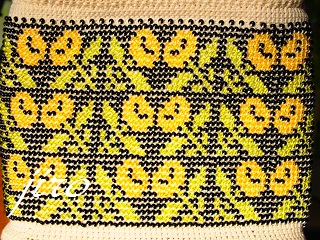 ビーズ編みがま口-マトリョーシカ11