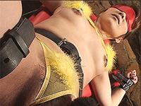 変態マゾ熟女 アソコにバイブを突っ込まれチンポを突っ込まれ激情