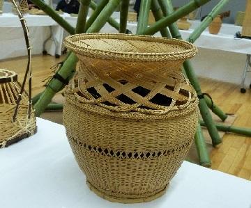 竹工芸展①
