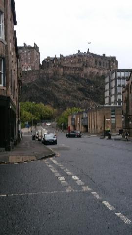 町からお城1