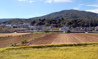 生駒山車窓から